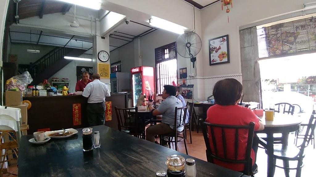 Red wine chicken Mihun @ 勝豐记 Cowboy Street Cafe