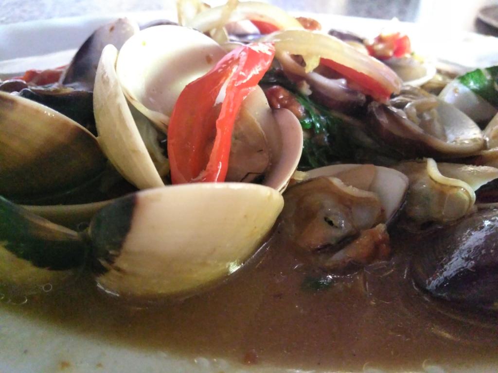 Kerang Tahu Masak Saus @ Restoran Pondok Nelayan