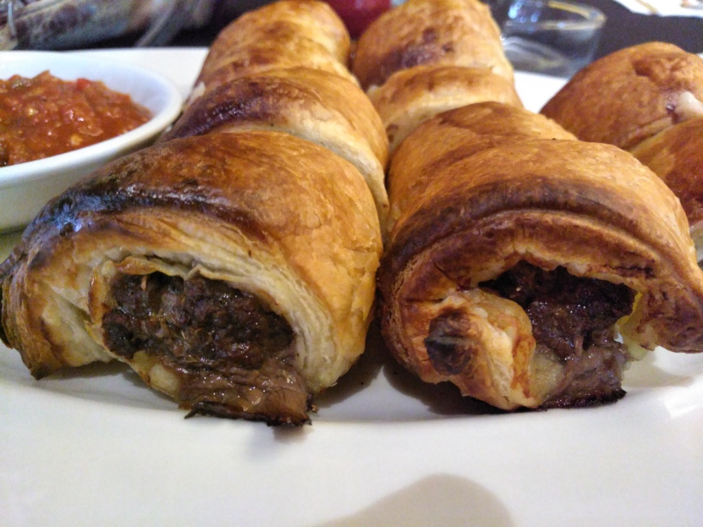 Boerewors Pastry Rolls  @ Out Of Africa Restaurant & Kudu Bar