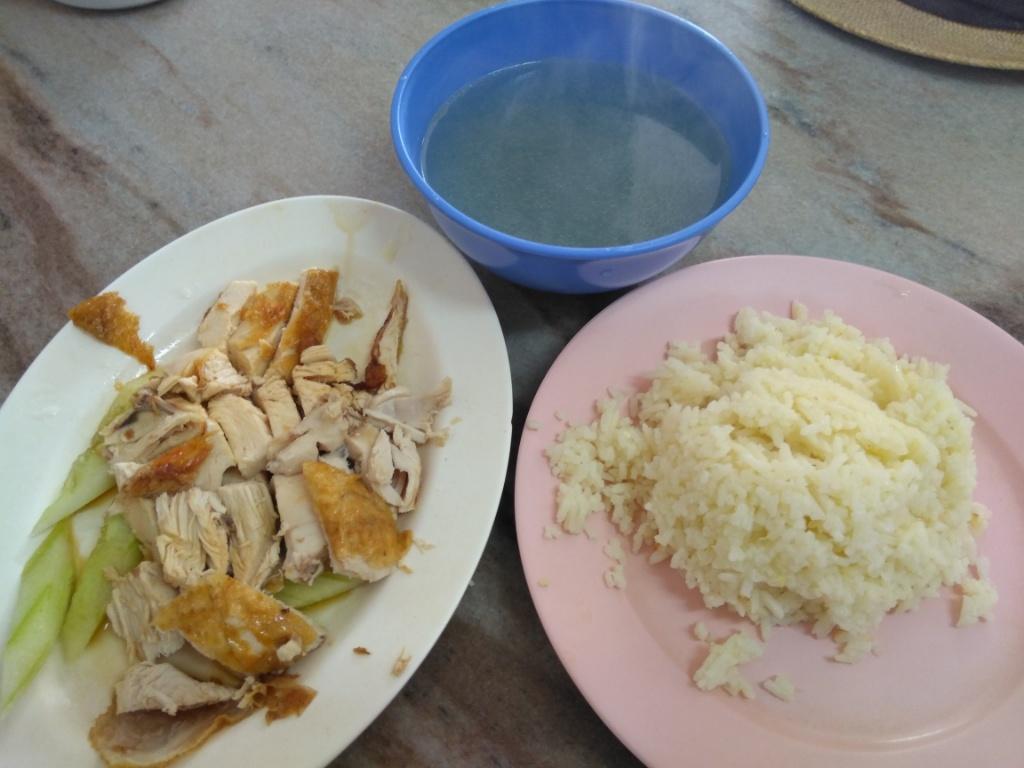 Chicken Rice @ Restoran Hoe Fong Chicken Rice