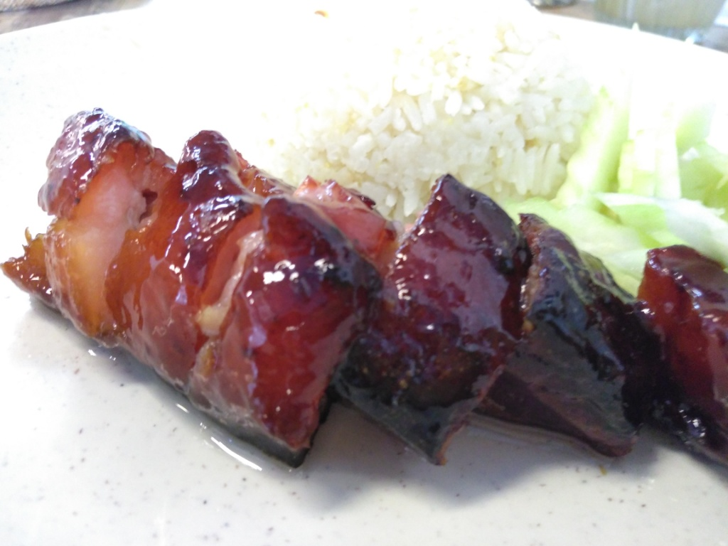Premium Char Siew Rice, Fresh Lemon grass @ My Toast N Roast