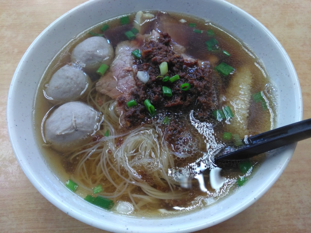 Beef Mix Noodles @ Shin Kee Beef Noodles
