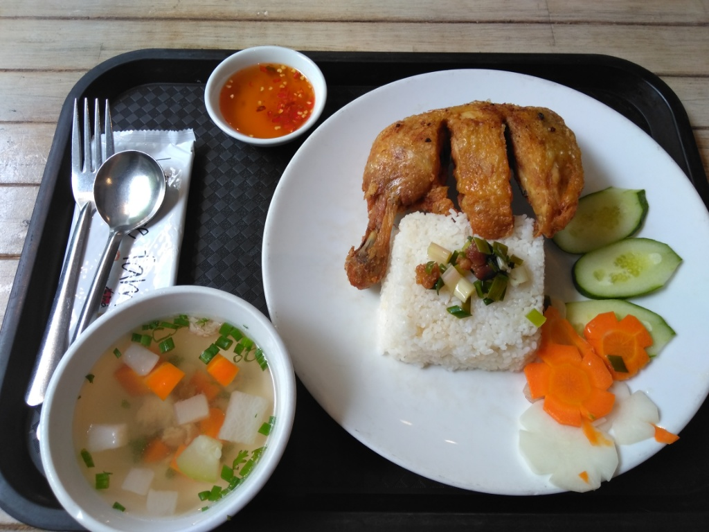 Broken Rice (Doi ga xoi mo) @ Cơm Tấm Mộc