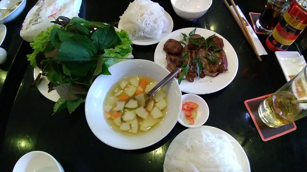 Bún Chả, Nem cua biển @ Nhà hàng Nem Vuông