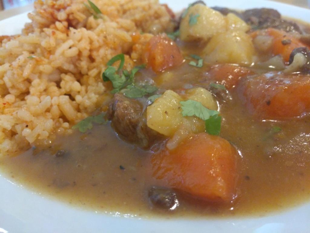 Beef Stew with Rice set, Laksa Paste Pasta, Tomato Paste @ Good Food & Co.