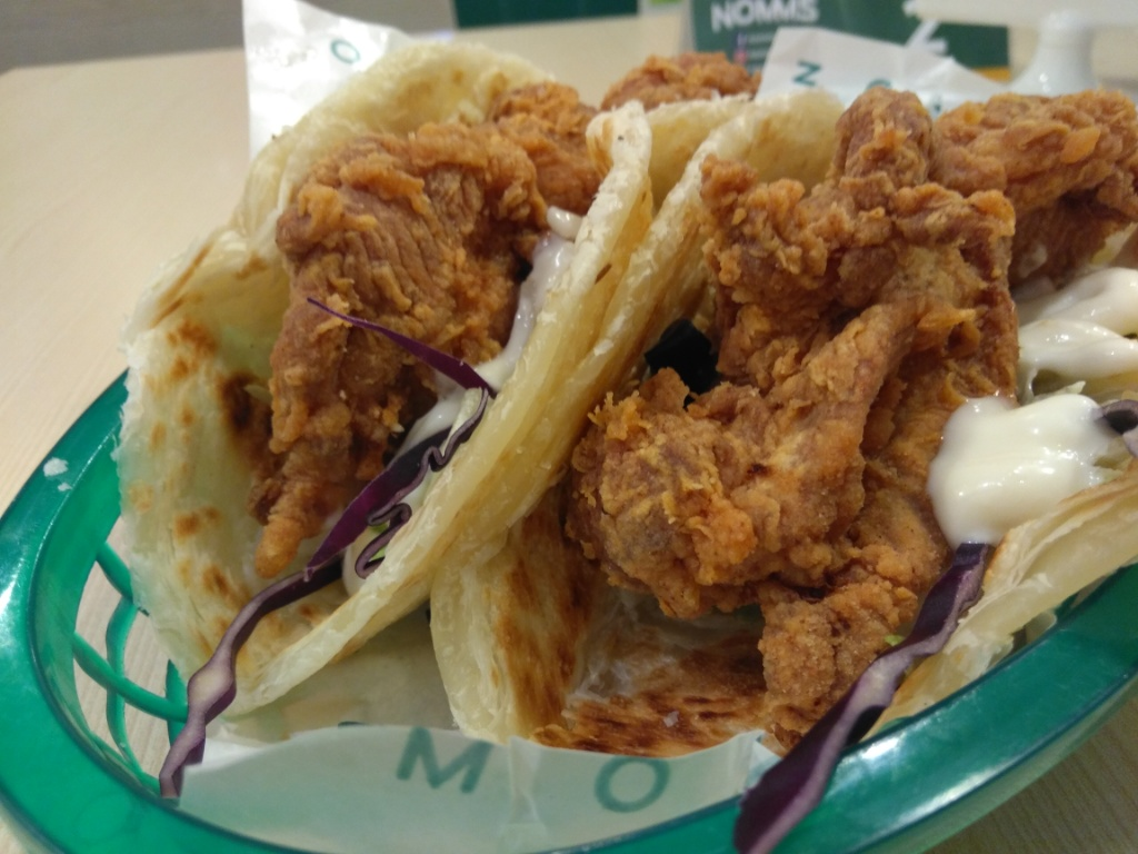 Paratha Fried Chicken @ Nomms SS15