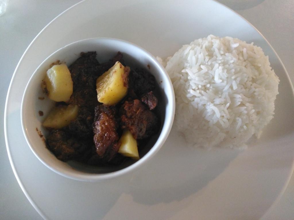Pork Adobo, Buko con Yelo, Leche Flan @ The Narra