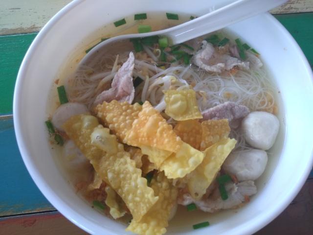Pork Noodle @ Moom Muum