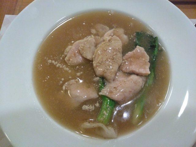 Wide Rice Noodle with Pork @ Wilaiwan Hua Hin