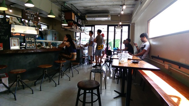 Sandwich Ham Cheese @ Velo Cafe