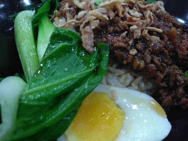 Braised Minced Pork Rice @ SS2 Fusion Canteen