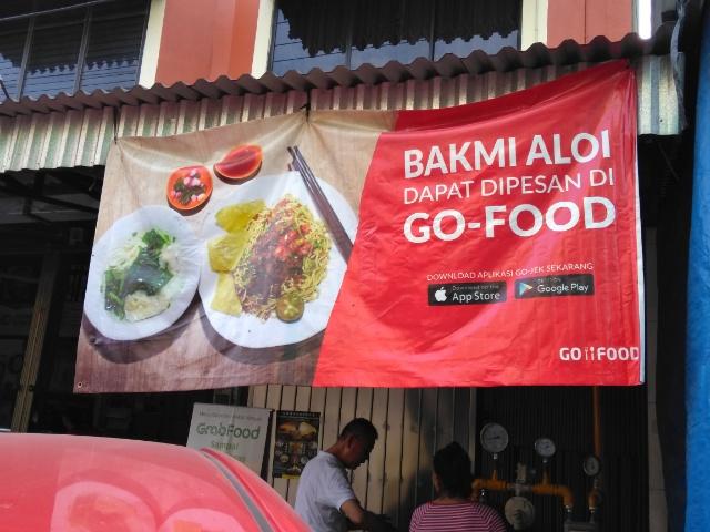 Mie, Tahu, Baso Sapi @ Bakmi Aloi Palembang
