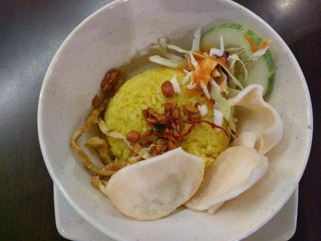 Nasi Uduk & Kari Ayam Soup @ Bumbu Desa