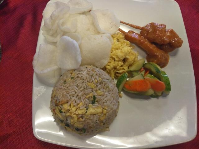 Nasi Goreng Oriental, Tea Talua @ Braga Permai Resto & Cake Shop