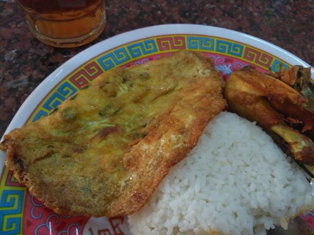 Nasi, Kikil, Ayam Bakar, Telor  @ Warung Nasi Ibu Imas
