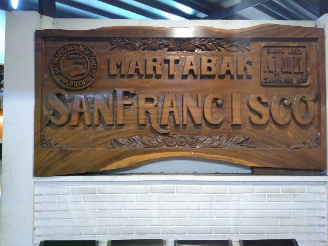 Martabak 1/2 Chocolate Kacang + 1/2 Keju @ Martabak San Fransisco