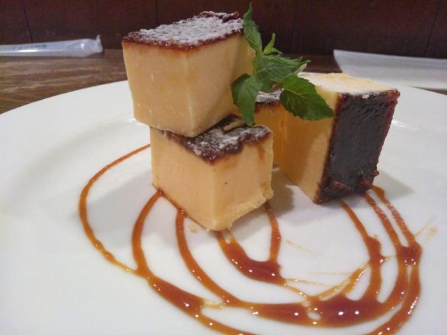 Tagliolini Al echino crema (北海道産うにのクリームソース タリオリーニ 生パスタ), Catalana (カタラーナ) @ Orizzonte オリゾンテ