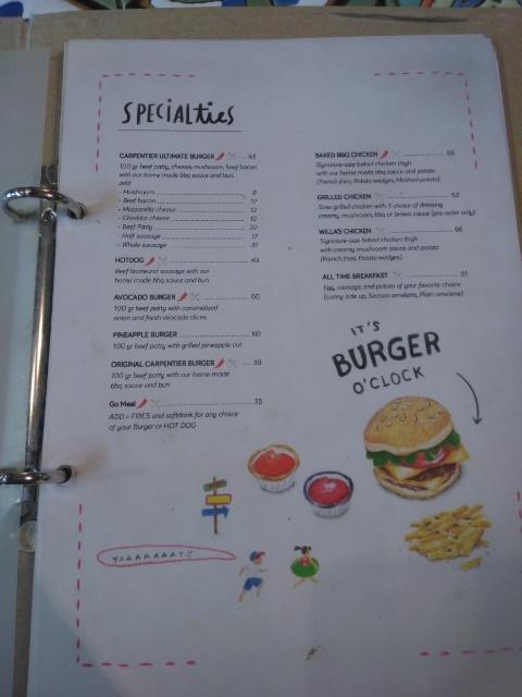 Original Carpentier Burger, Avocado juice @ Carpentier Kitchen