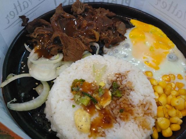 Sliced Beef + Steak Sauce @ Platter
