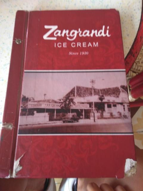 Noodle Ice Cream @ Zangrandi Ice Cream