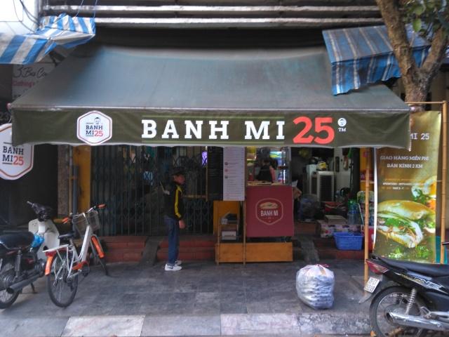 Bánh Mì That ga (Honey Grilled Chicken) @ Bánh Mì 25