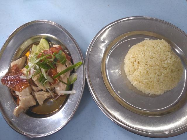Duck Rice, BBQ Pork Rice @ Four Superstars Chicken Rice Shop 四大天王烧腊店