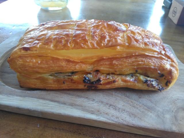 Cheese Croissant, Pepito(Vanilla chocolate), Orange Juice @ Monsieur Spoon Ubud