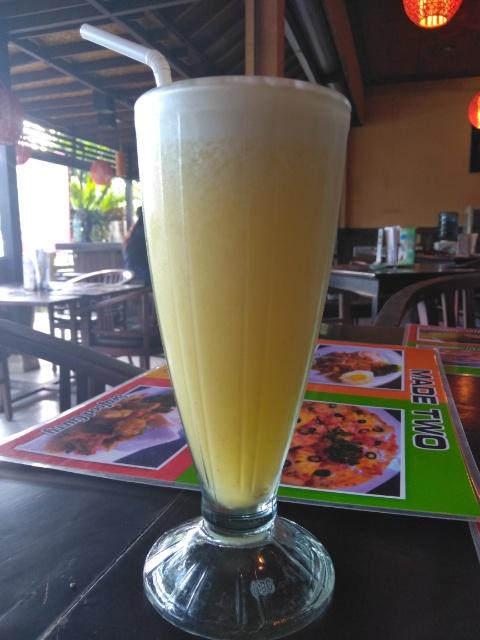 Mee Goreng, Pineapple Juice @ Made Two Restaurant