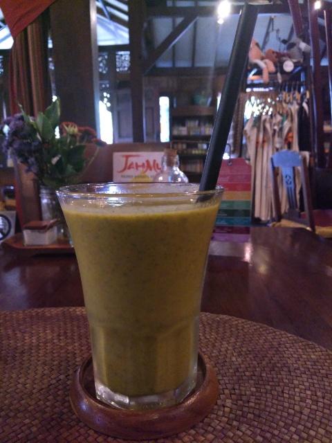 Nasi Goreng, Healthy Drink @ Biku Bali