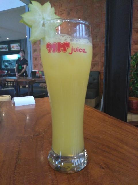 Nasi Goreng Otak Otak, Star Fruit @ MM Juice