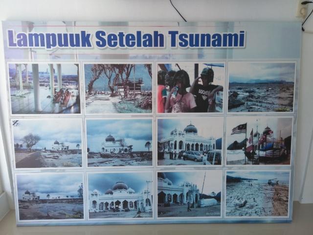 津波の過去と敬虔なイスラム教徒の住む街 バンダアチェ