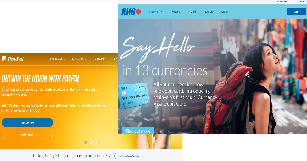 マレーシア在住でクレジットカードを作れないなら、RHBとPayPalのコンビで決済しよう!
