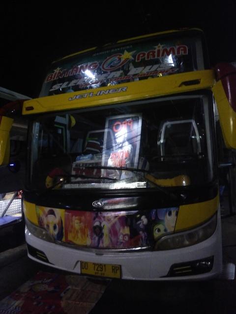 南スラウェシ州 マカッサル - トラジャ間のバス移動